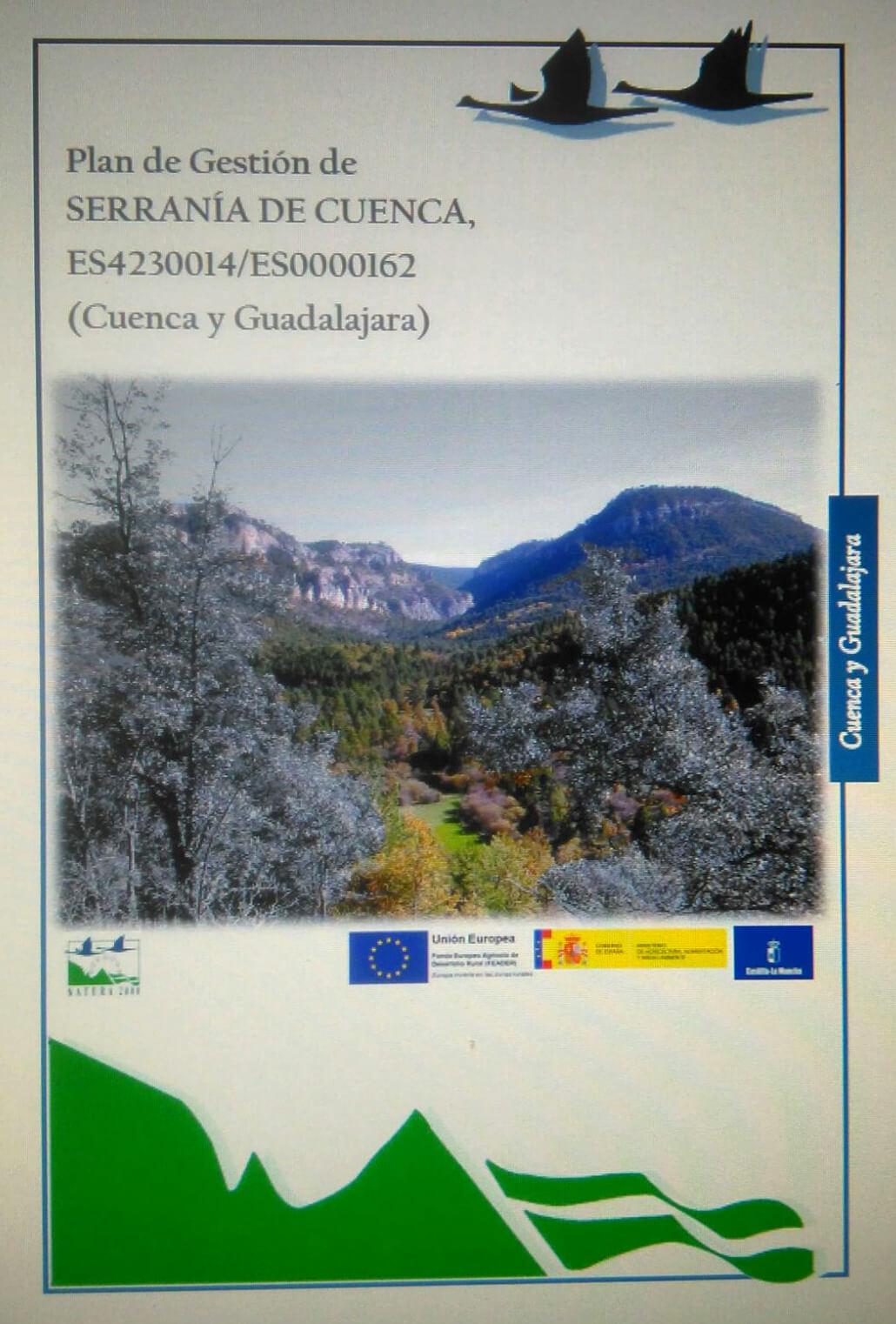 Plan de Gestión de la Serranía de Cuenca (2014)