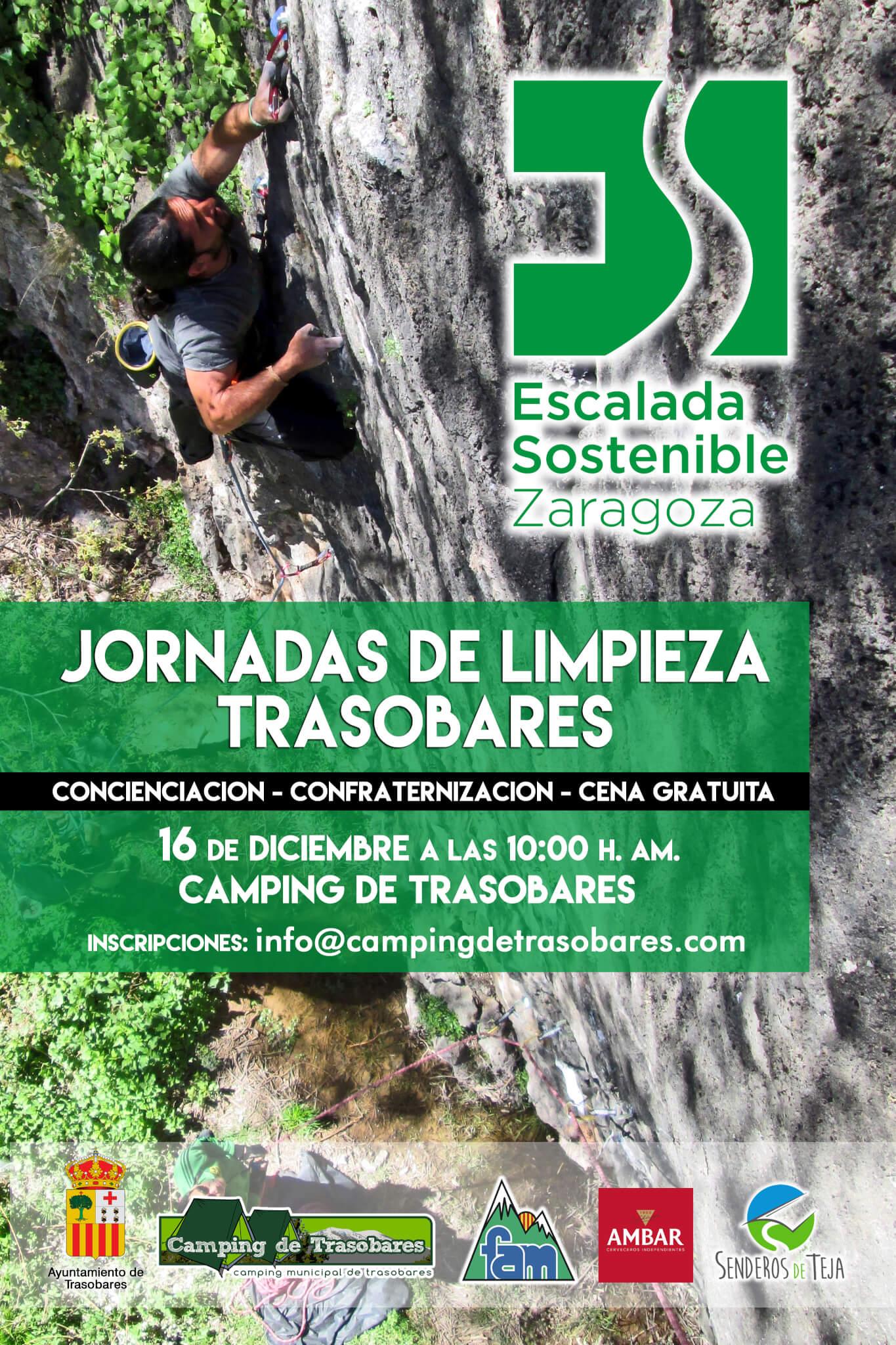 Cartel Jornadas Limpieza Trasobares 2017