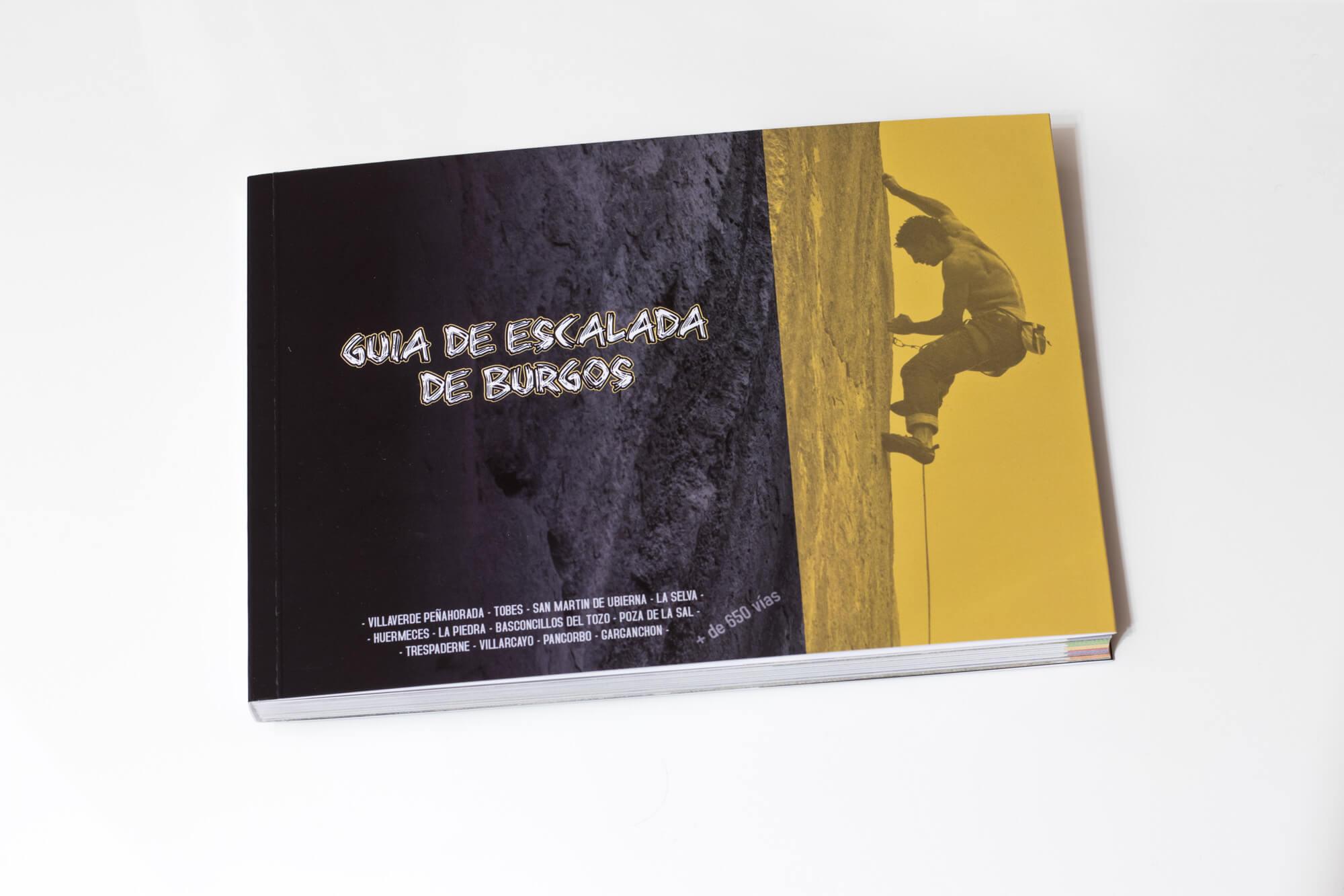 Guía de escalada en Burgos. Disponible en guiadeescaladaburgos@gmail.com