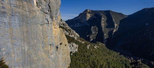 Escalada en Trespaderne, Burgos.